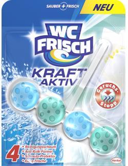 WC Frisch Kraft-Aktiv Duftspüler Geruchs-Stopp  (50 g) - 4015000963312