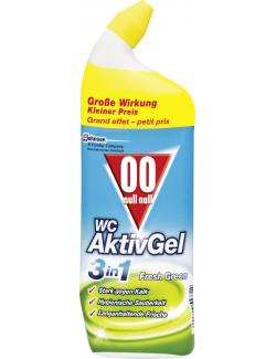 Null-Null WC AktivGel 3in1 Fresh Green  (750 ml) - 5000204553314