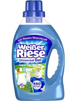 Weißer Riese Universal Gel  (20 WL) - 4015000962445