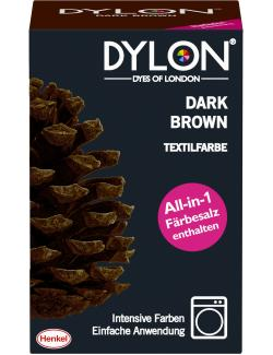 Dylon Textilfarbe Dark Brown  (350 g) - 4015000961875