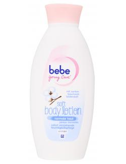 Bebe Young Care Soft Body Lotion für normale Haut  (400 ml) - 3574660432480
