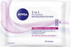 Nivea Aqua Effect Pflegende Reinigungstücher  (25 St.) - 4005808195503