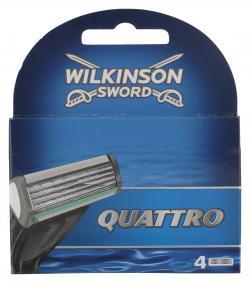 Wilkinson Sword Quattro Klingen  (4 St.) - 4027800009404