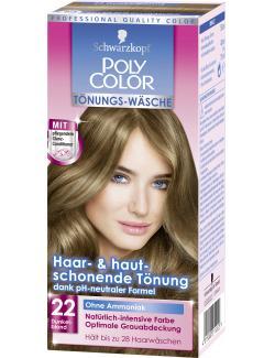 Schwarzkopf Poly Color T�nungs-W�sche 22 dunkelblond  (90 ml) - 4015000211222