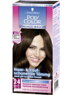 Schwarzkopf Poly Color T�nungs-W�sche 24 dunkelbraun  (90 ml) - 4015000211246