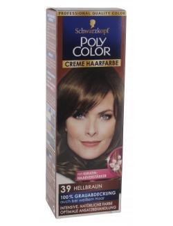 Schwarzkopf Poly Color Creme-Haarfarbe 39 hellbraun  (82,50 ml) - 4015000211390