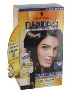 Schwarzkopf Diadem Seiden-Color-Creme 725 schwarz  (147,50 ml) - 4015000217255