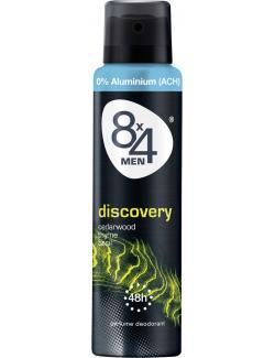 8x4 Discovery Deo Spray  (150 ml) - 4005808648160