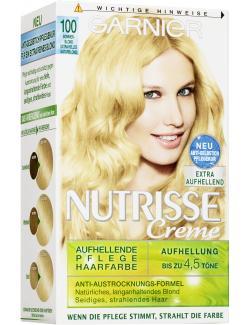 Garnier Nutrisse Creme Intensiv Coloration 100 sommerblond  - 4002441020308