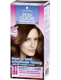Schwarzkopf Poly Color T�nungs-W�sche 33 schokobraun  (90 ml) - 4015000834896