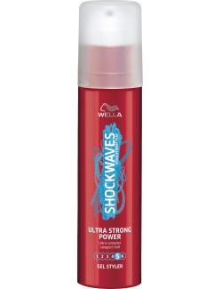 Wella Shockwaves Gel Styler ultra-schneller Langzeit-Halt  (100 ml) - 4056800004645