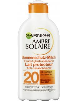 Garnier Ambre Solaire Sonnenschutz-Milch LSF 20  (200 ml) - 3600540134370