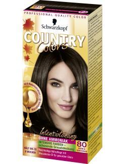 Schwarzkopf Country Colors Intensivt�nung 80 arabia schwarzbraun  (113 ml) - 4015000523714