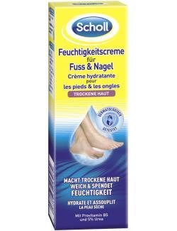 Scholl Feuchtigkeitscreme für Fuss & Nagel  (75 ml) - 5038483253984