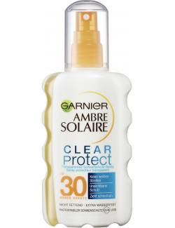 Garnier Ambre Solaire Clear Protect+ Sonnenschutz-Spray LSF 30  (200 ml) - 3600540276643