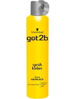 Schwarzkopf got2b Spr�hkleber freeze Haarlack  (300 ml) - 4015000516341