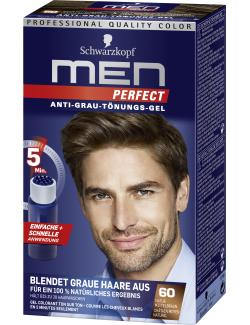 Schwarzkopf Men Perfect Anti-Grau T�nungs-Gel 60 natur mittelbraun  (80 ml) - 4015000529150