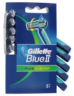 Gillette Blue II Plus Slalom  (5 St.) - 3014260221607