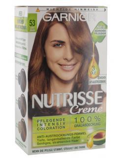 Garnier Nutrisse Creme Intensiv Coloration 53 samtbraun  (1 St.) - 4002441020100