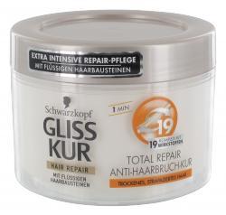 Schwarzkopf Gliss Kur Total Repair Anti-Haarbruch-Kur  (200 ml) - 7610300237636