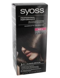 Syoss Professional Performance Coloration 3-1 dunkelbraun  (115 ml) - 4015000544962