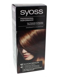 Syoss Professional Performance Coloration 4-8 schokobraun  (115 ml) - 4015000544795