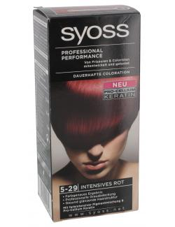 Syoss Professional Performance Coloration 5-29 intensives Rot  (115 ml) - 4015000544849