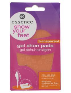 Essence Gel Shoe Pads transparent  (2 St.) - 4250035272132