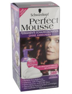 Schwarzkopf Perfect Mousse Schaumcoloration 388 dunkles Rotbraun  (93 ml) - 4015000933254