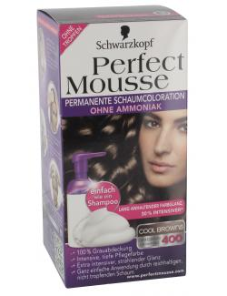 Schwarzkopf Perfect Mousse Schaumcoloration 400 dunkelbraun  (93 ml) - 4015000934121