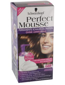 Schwarzkopf Perfect Mousse Schaumcoloration 668 haselnuss  (93 ml) - 4015000933278