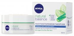 Nivea Pure & Natural Feuchtigkeits-Gesichtspflege  (50 ml) - 4005808507894