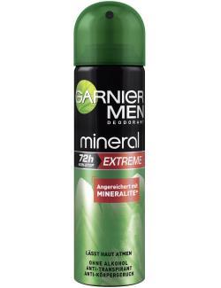 Garnier Men Mineral Extreme Deodorant Spray  (150 ml) - 3600540888884