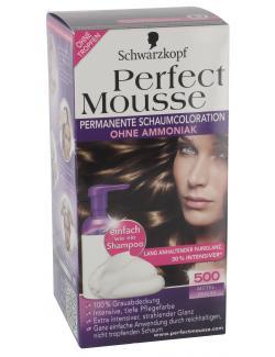 Schwarzkopf Perfect Mousse Schaumcoloration 500 mittelbraun  (93 ml) - 4015000933261