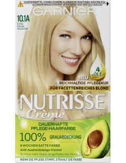Garnier Nutrisse FarbSensation Intensive Pflegefarbe 10.1A extra kühles Hellblond  (1 St.) - 3600541043060