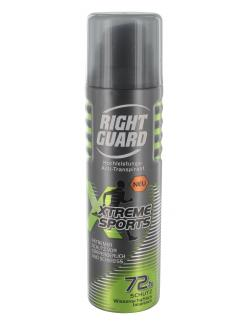 Right Guard Xtreme Sports Hochleistungs- Anti-Transpirant  (150 ml) - 4015000945028