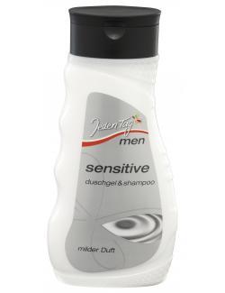 Jeden Tag Men Duschgel & Shampoo sensitive  (300 ml) - 4306188063537
