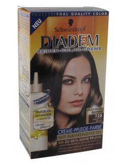 Schwarzkopf Diadem Seiden-Color-Creme 728 amarettobraun  (142 ml) - 4015000913324