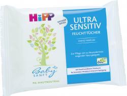 Hipp Babysanft Feuchttücher ultra sensitiv  (10 St.) - 4062300086906