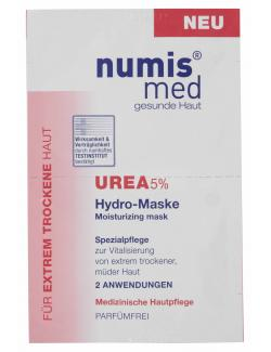 Numis med Urea Hydro-Maske mit 5% Urea  (2 x 8 ml) - 4003583161188