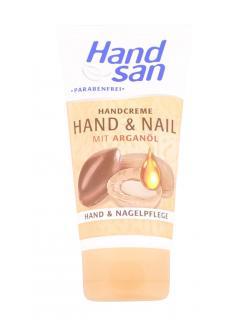 Handsan Handcreme Hand & Nail mit Arganöl  (100 ml) - 5000468000272
