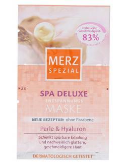 Merz Spezial Spa Deluxe Entspannungs Maske  (2 x 5 ml) - 4008491119580
