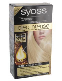Syoss Oleo Intense Coloration 9-10 helles Blond  (115 ml) - 4015000999731