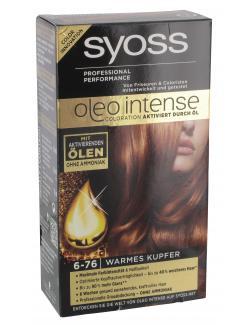 Syoss Oleo Intense Coloration 6-76 warmes Kupfer  (115 ml) - 4015000999717