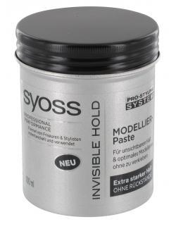 Syoss Invisible Hold Modellier-Paste extra starker Halt  (100 ml) - 4015000975421