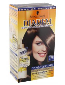 Schwarzkopf Diadem Seiden-Color-Creme 738 espresso  (142 ml) - 4015000538923