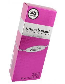 Bruno Banani Made for Woman Eau de Toilette  (60 ml) - 737052386041