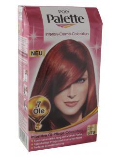 Schwarzkopf Poly Palette Coloration 678 rubinrot  (115 ml) - 4015000992879