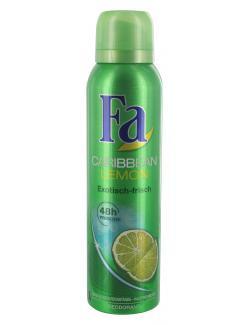 Fa Caribbean Lemon Deodorant exotisch-frisch  (150 ml) - 4015000997706
