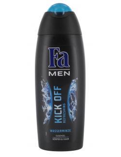 Fa Men Kick Off Refreshing Duschgel Körper & Haar Wasserminze  (250 ml) - 4015000997621